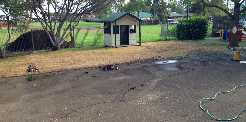 landscaping project school yard