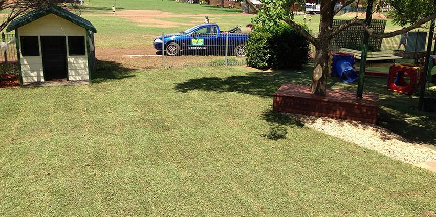 school yard upgrade